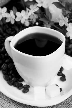 aromatic delicious of coffee photo