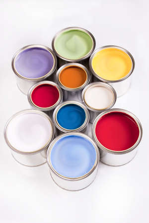 Deep colors of paint Stock Photo - 4929193