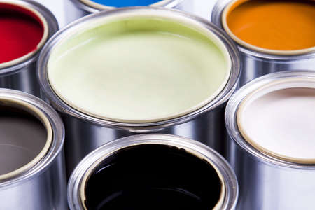 Paint palette Stock Photo - 4929202