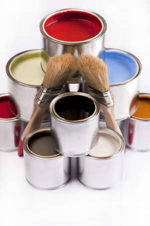Deep colors of paint Stock Photo - 4929194