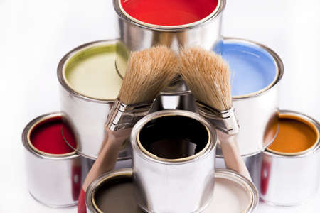 Deep colors of paint Stock Photo - 4929203