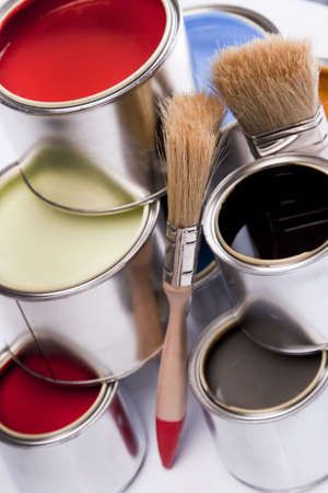 Deep colors of paint Stock Photo - 4929205