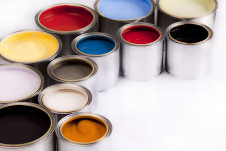 The colors of the rainbow Stock Photo