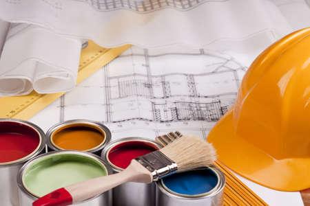 Renovation plan photo