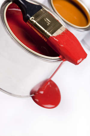 Composition of paint Stock Photo - 4929118