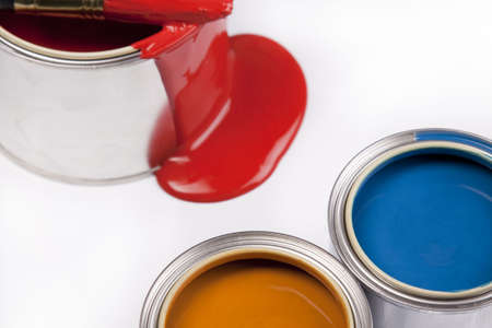 Composition of paint Stock Photo - 4929117