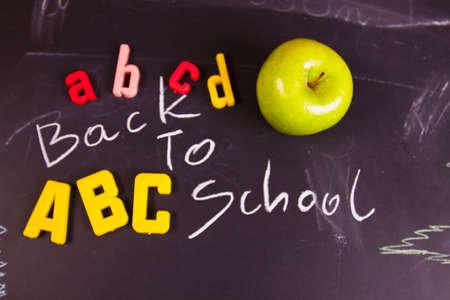 Exhibition of school. Back to school Stock Photo - 5369936