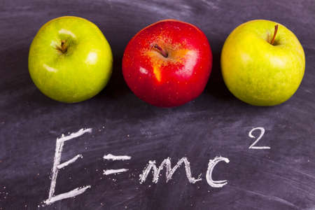 School equation   Stock Photo