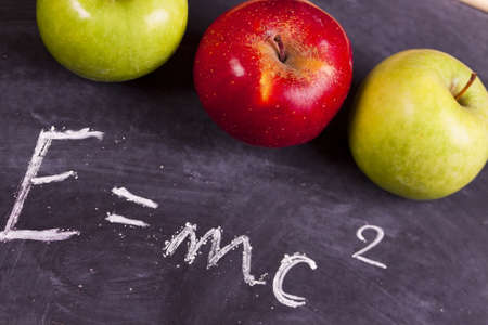 School equation   Stock Photo