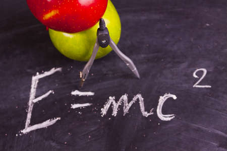 School equation   Stock Photo - 5400912