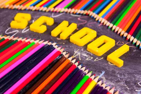 Exhibition of school. Back to school