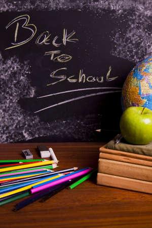 Exhibition of school. Back to school   photo