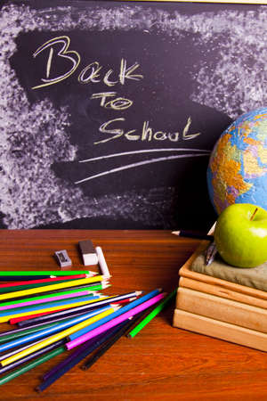 Exhibition of school. Back to school   Stock Photo - 5400902