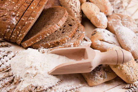 Compositions bread Stock Photo - 5396933