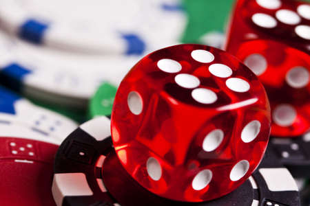 Dice   Stock Photo