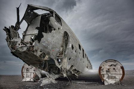 Flugzeugwrack DC3 - Island