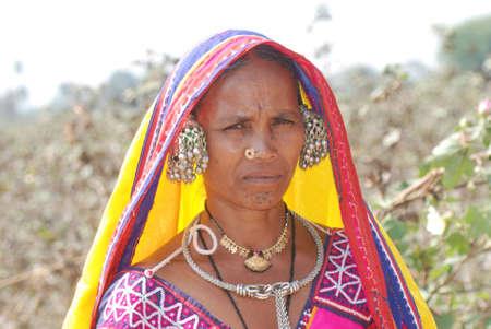 Lambadi banjara woman India Editorial