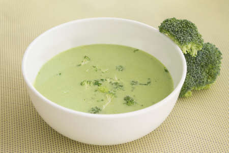 brocolli: Brocolli soup (low fat)