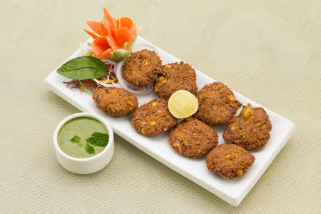 Aloo corn Tikki-Potato corn fried cutlets
