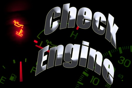 Change oil service engine light tune up photo