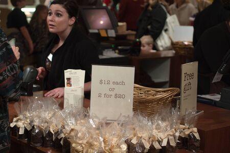 Las Vegas, NV, USA, Ethel M Chocolate factory, Christmas 2011