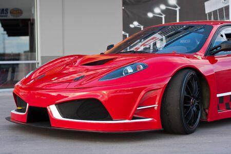 LAS VEGAS NEVADA - Jan 15: Ferrari F430 at the Las Vegas Motor Speedway on January 15, 2012 in Las Vegas Nevada, USA Stock Photo - 11951658