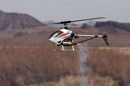 rc: 산의 앞에 비행 RC 헬기