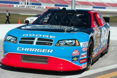 Richard Petty Driving School Nascar race car