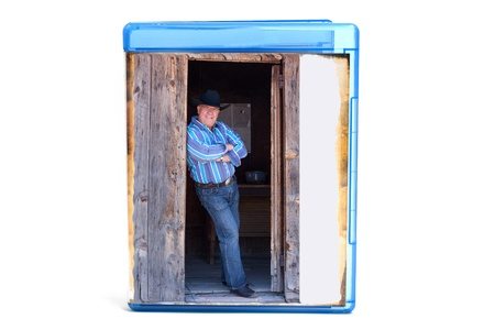 Blue DVD case, you can insert your own cover or text with picture photo