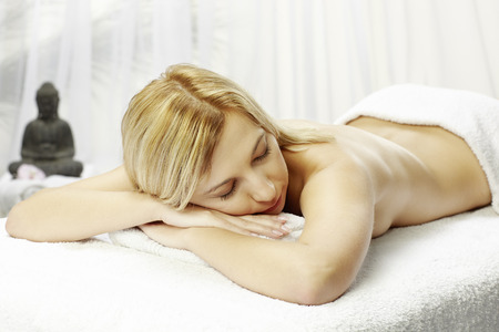 Spa Woman.Massage.Beauty salon photo