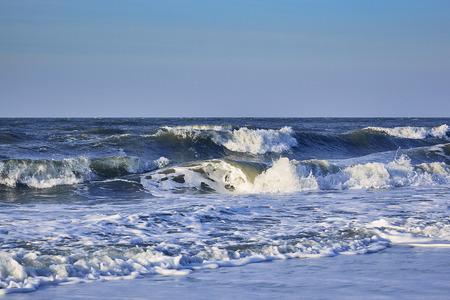 North Sea with blue skies Standard-Bild