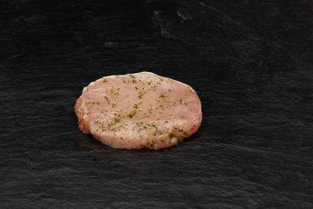Turkey steak prepared for the grill Standard-Bild