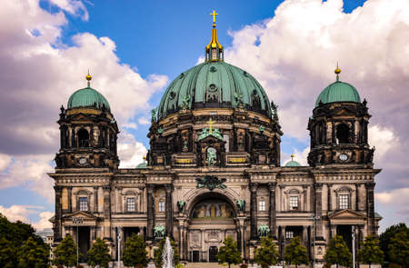 The Berlin Cathedral in the Museum Park area of Berlin has a rich history of the Protestant religion in the capital of Germany.
