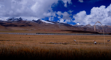 magnificence: The magnificence of the Tanggula mountains