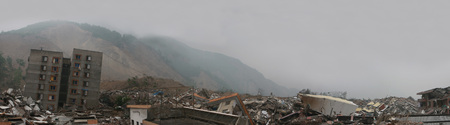 uplift: record of the 8 magnitude earthquake in Wenchuan