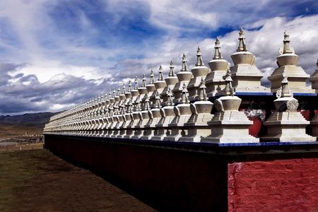 arranged: Lhakang arranged tower