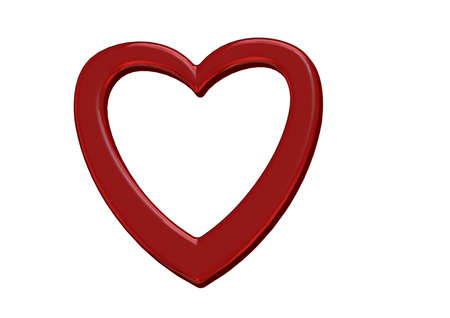 atrial: red heart