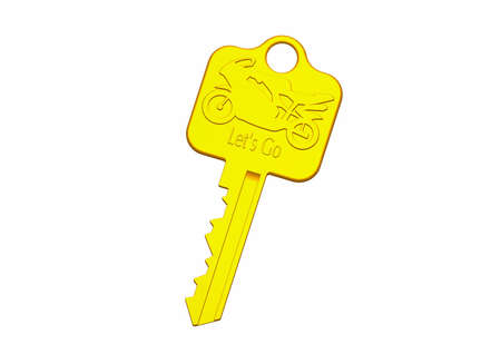 intrest: gold key Stock Photo