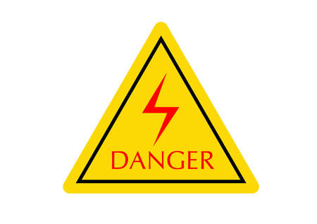 danger symbol Stock Photo - 6253376