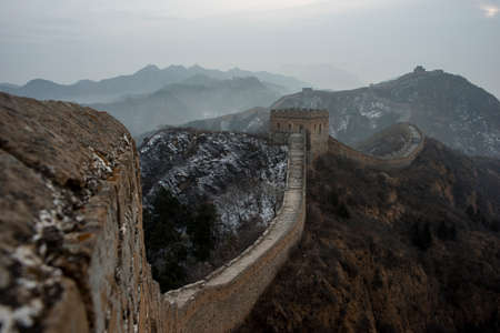 jinshanling: Jinshanling great wall Stock Photo