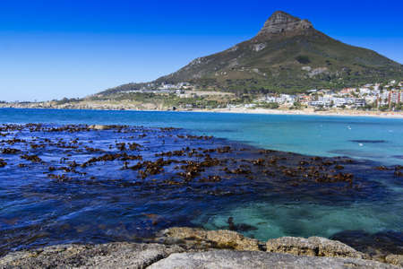 Camps Bay and Lions Head Standard-Bild