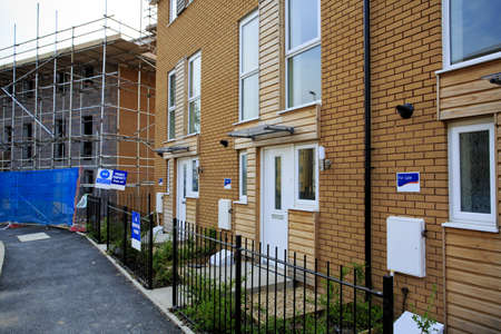 affordable: Construction of new affordable housing in Bristol, UK