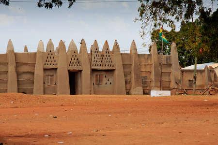 Palace of the Wa Na, in Wa, Ghana Standard-Bild