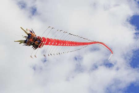Chinese dragon kite at the 2013 Bristol International Kite Festival