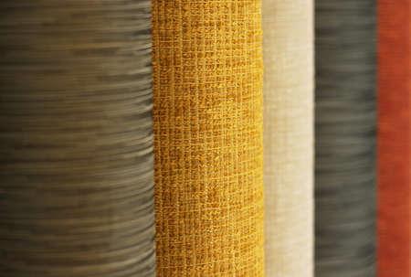 floor coverings: samples of flooring Stock Photo