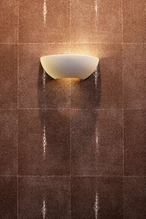 sidelight: lamp on the wall, wall light, sidelight