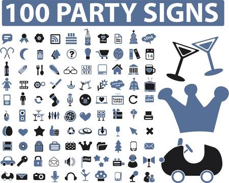 party dj: signes de parti 100