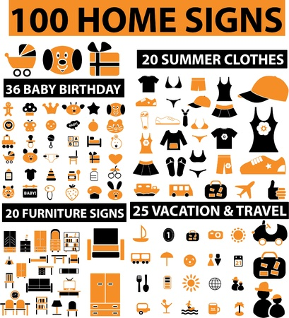 audio book: 100 home signs