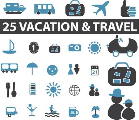 travel signs Ilustração