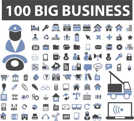 100 big business signs